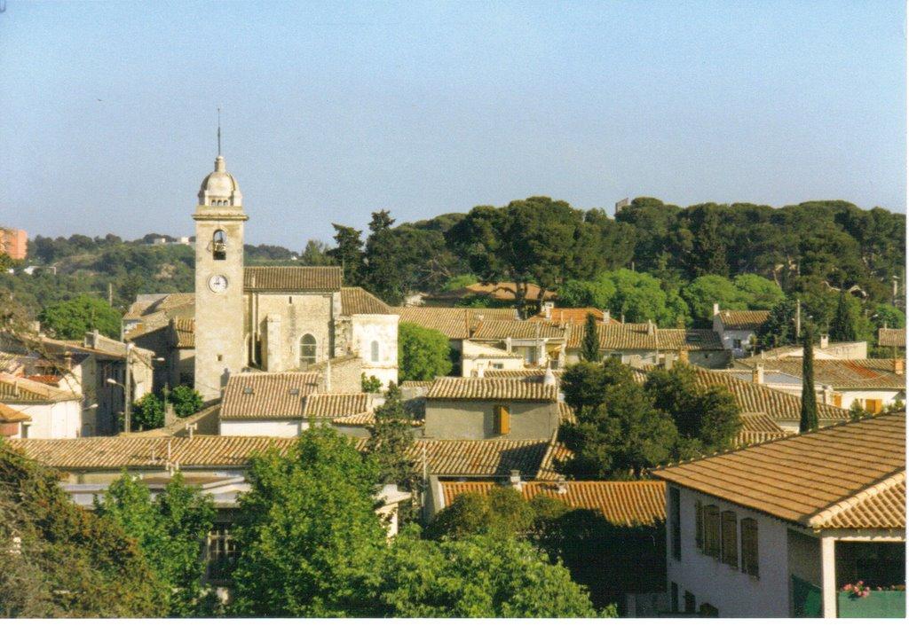 vue sur le coeur millénaire du village