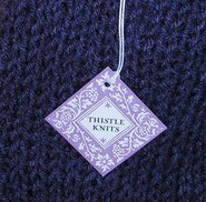 THISTLE KNITS TAG