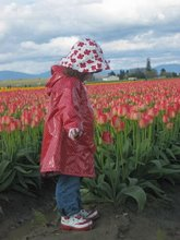 ~Hannah in the Tulips~