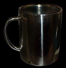 Shiny Metal Mug
