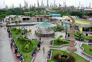 Parque Independencia y la Refinería