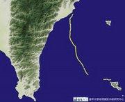 蘭嶼-台東  衛星定位軌跡