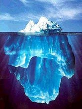 Que linda foto de iceberg