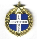 IAHSS Training Completion Pin