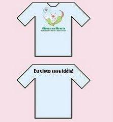 Agora você pode ter a camisa da Clínica da Alegria!