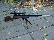 pcp buks 5,5 mm voor long range shooting