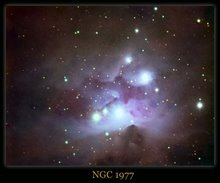 Running Man Nebula