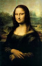 Mona Lisa  (Louvre, copy)