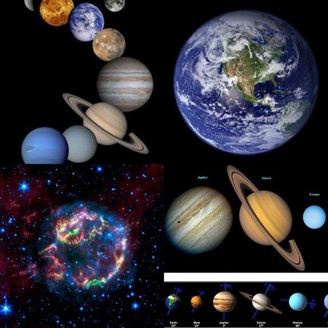 la spazio intorno a noi
