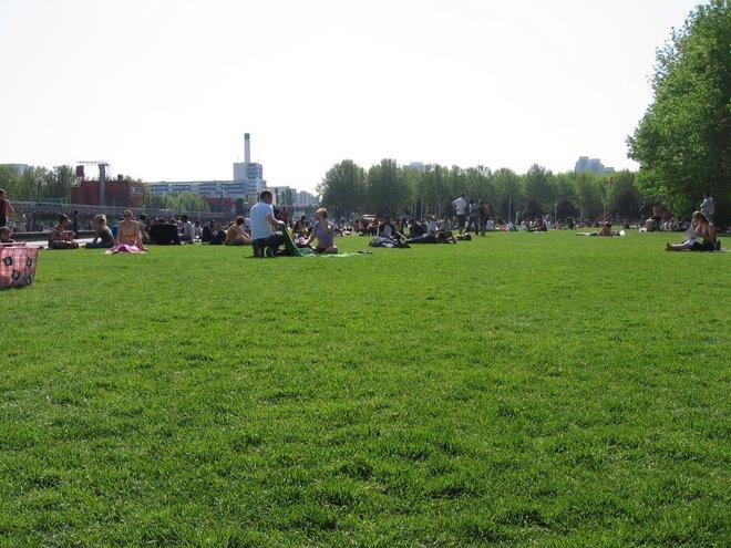 Vista general de la Villette