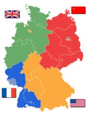 Divisão da Alemanha no Pós-Guerra
