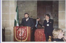 """ACTO DE ENTREGA DEL PREMIO """"CASA DE ÚBEDA EN MADRID"""" 2003"""