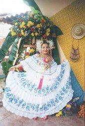 POLLERA DE GALA