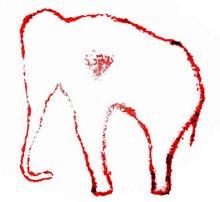 Elefante de la cueva del pindal