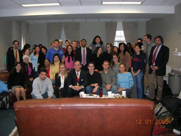 HNBA President Nelson Castillo visits BCLS