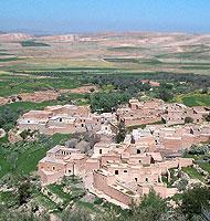 """Village dans l""""atlas marocain"""