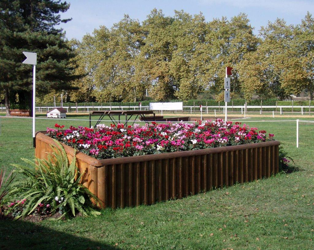 Flower Bed Fencing : Friday, November 17, 2006
