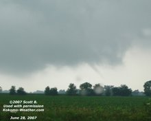 6/28/2007 Funnel Cloud