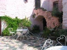 la villa -cour intérieure-