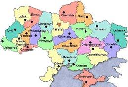 Regional Map of Kiev
