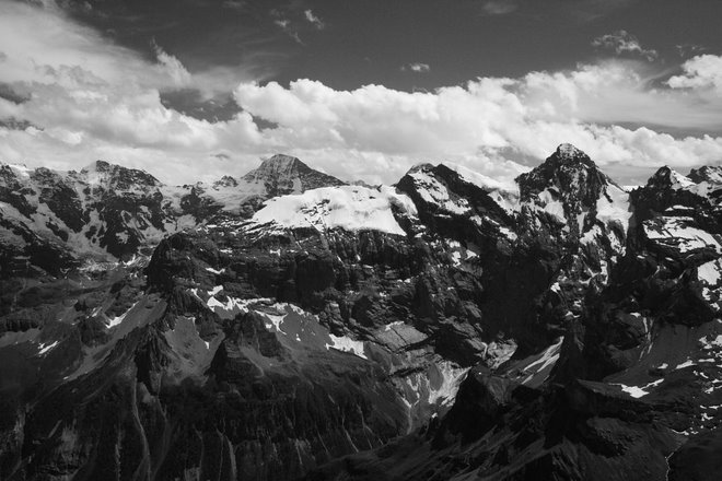 On top Schilthorn mountain, Switzerland June 2007