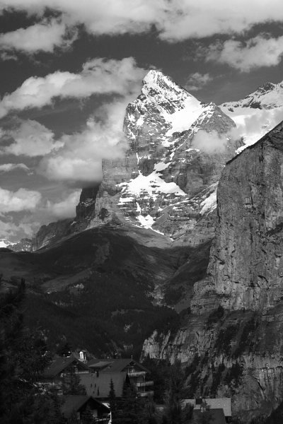 Muerren, Switzerland June 2007