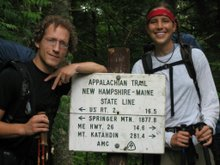 2007 - Hiking the Appalachain Trail