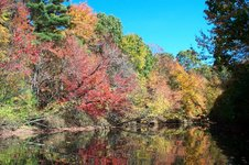 Nashua River in Autumn