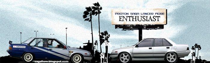 Proton Saga Lancer Fiore Enthusiast