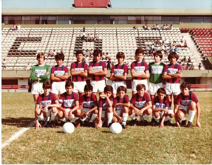 El primer partido de Ricatti