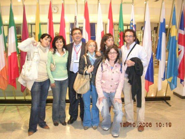 Juventudes Casareñas en Bruselas