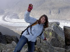 Hier turne ich noch in den schweizer Bergen rum...bald kommt ein Bild von mir in Beijing City!