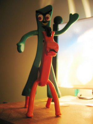 Evil Gumby and Pokey