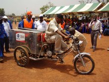 Zoomlion introduces motorised tricycle in Kumasi