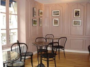 Le nouveau salon de thé