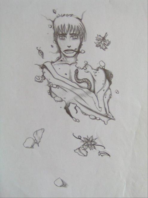 dessin, bien morbide j'aime bien...