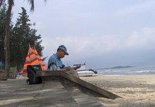Danang, plage de Xuân Thiêù