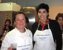 Professoressa Gabriella Mari, Scuola di Cucina Cordon Bleu, Firenze/Italia