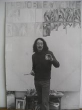 Peter Chasseaud at Brighton Poly, Fine Art, 1975