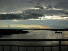 Puente Remanso en Rio Paraguay