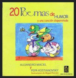 """""""20 poemas de humor y una canción disparatada"""" Servilibro, 2005."""