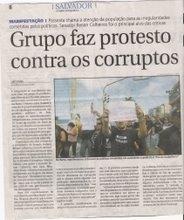 Passeata contra a corrupção na BAhia