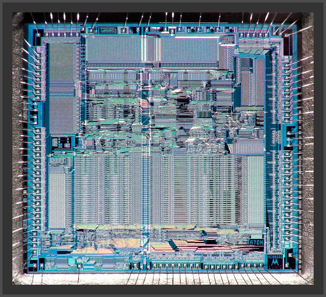 Motorola MC68020RC16 CPU