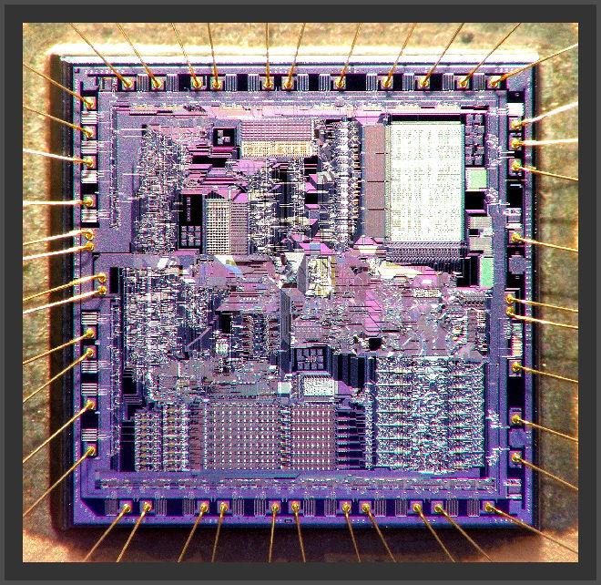 Fujitsu MBL8086-2 CPU