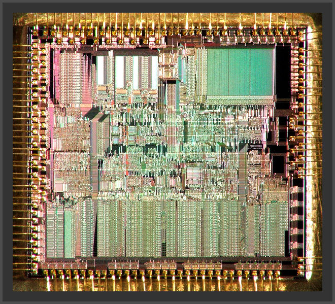 Intel A80386DX-25 IV CPU