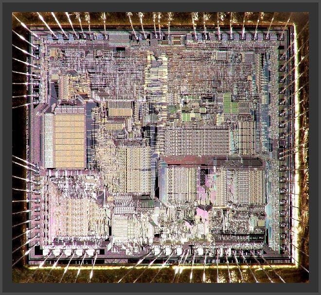 Intel A80186 CPU