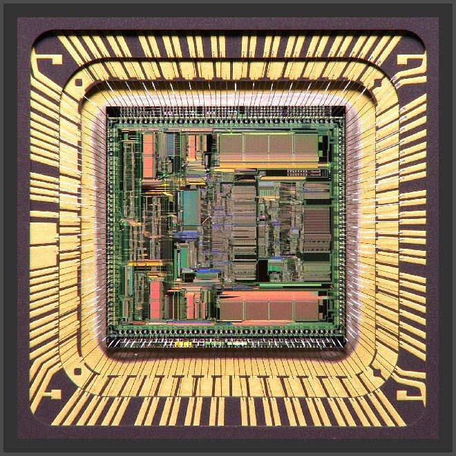 Motorola XC68040RC25M CPU