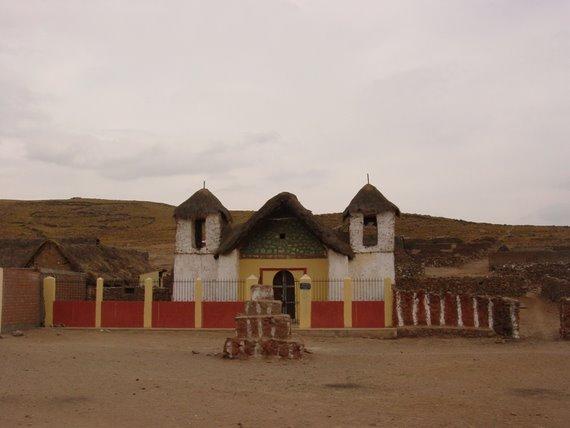 Iglesia en un anexo de Orcopampa - Arequipa - Perú