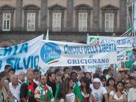 Il Circolo di Gricignano in piazza del Plebiscito