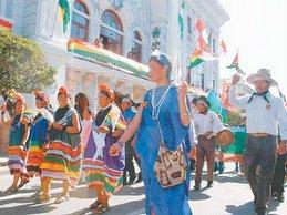 Inauguration de l'A.C.: présence guarani